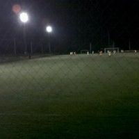 Photo taken at สนามบุญมาฟุตบอลคลับ by joe G. on 3/17/2012