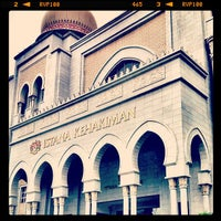 Photo taken at Istana Kehakiman (Palace of Justice) by Muhammad Nizam R. on 7/16/2012