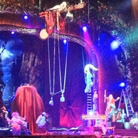Photo taken at Zarkana by Cirque du Soleil by Miguelina C. on 8/31/2012