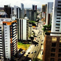 Photo taken at Avenida Bernardo Vieira de Melo by Hugo S. on 9/8/2012