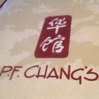 Photo taken at P.F. Chang's Asian Restaurant by Dan K. on 4/26/2012