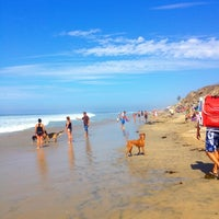 Photo taken at Huntington Dog Beach by Diana L. on 9/3/2012