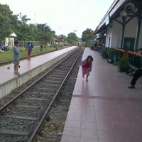Photo taken at Stasiun Cicurug by Andreas W. on 3/23/2012