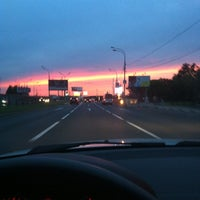 Photo taken at Рублёво-Успенское шоссе by Ya N. on 8/13/2012