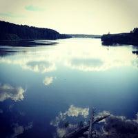 Photo taken at Дубровское водохранилище by Anfisa K. on 5/26/2012
