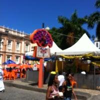 Photo taken at Centro Histórico de Salvador by Luiz M. on 2/21/2012