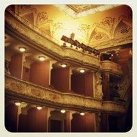 Снимок сделан в Театр им. Ивана Франко пользователем Зарина Ц. 5/19/2012