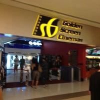 Photo taken at Golden Screen Cinemas (GSC) by Orange W. on 4/30/2012