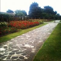 Photo taken at Southsea Rose Garden by Jeeves W. on 8/27/2012