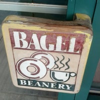 Photo taken at Bagel Beanery by Heidi C. on 9/13/2012