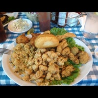 Photo taken at Dudley's Cajun Cafe by David P. on 7/19/2012