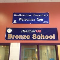 Photo taken at Weatherstone Elementary by TJ C. on 5/17/2012