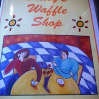 Photo taken at Sally's Waffle Shop by Stephanie S. on 6/30/2012