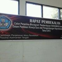 Photo taken at Lembaga Penjaminan Mutu Pendidikan (LPMP) Provinsi Kalimantan Tengah by Ardian M. on 3/24/2012