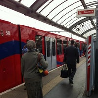 Photo taken at Shadwell DLR Station by Marie C. on 6/27/2012