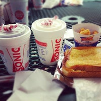 Photo taken at SONIC Drive-In by Bianca B. on 5/28/2012