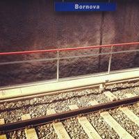Photo taken at Bornova Metro Otobüs Durağı by Saban L. on 7/29/2012