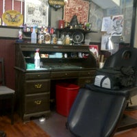 Photo taken at Hawk's Electric Tattoos by Tony B. on 6/21/2012