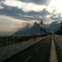 Photo taken at Avenida Vieira Souto by Elvio C. on 3/15/2012