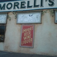 Photo taken at Morelli's Liquor Store by Jeff C. on 3/13/2012