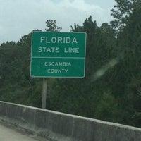 Photo taken at Alabama / Florida State Line by John K. on 8/30/2012