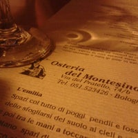Photo taken at Osteria del Montesino by Serena S. on 6/9/2012