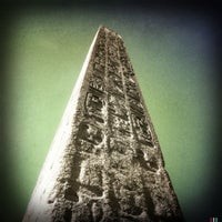 Photo taken at The Obelisk (Cleopatra's Needle) by rob z. on 4/29/2012