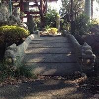 Photo taken at 善養密寺 by Ayumi M. on 2/17/2012