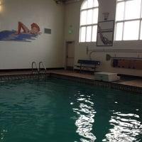 Photo taken at Huntington Beach City Gym by Lori S. on 4/26/2012