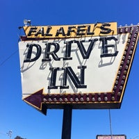 Photo taken at Falafel's Drive-In by Lorne R. on 7/30/2012