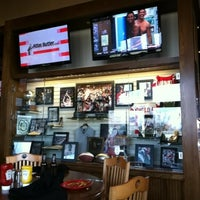 Photo taken at Buckeye Hall of Fame Grill by Chris P. on 3/17/2012