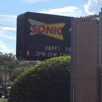 Photo taken at SONIC Drive In by Emma on 7/16/2012