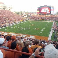 Photo taken at Darrell K Royal-Texas Memorial Stadium by Ivan on 9/2/2012