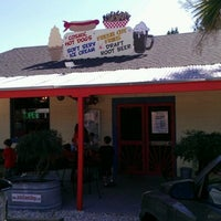 Photo taken at Jack's Cosmic Dogs by David M. on 3/15/2012