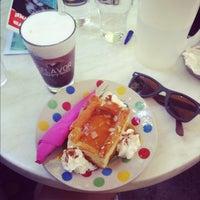 Photo taken at Pastaflora darling! by Thalia G. on 5/13/2012
