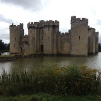 Photo taken at Bodiam Castle by Al F. on 8/25/2012