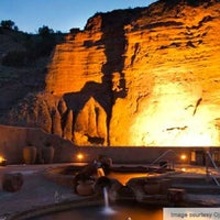 Photo taken at Ojo Caliente Mineral Springs Resort & Spa by Bobby on 8/21/2012