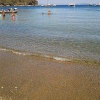Photo taken at Spiaggia Di Straccoligno by Sere N. on 8/9/2012