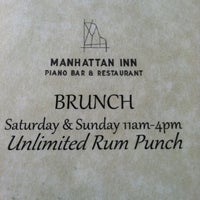 Photo taken at Manhattan Inn by Graham S. on 7/7/2012