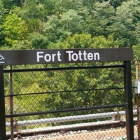Photo taken at Fort Totten Metro Station by Stacy R. on 7/11/2012