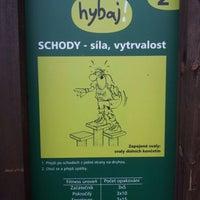 Photo taken at Fitness Stezka by Radim K. on 5/27/2012
