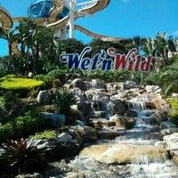 Photo taken at Wet 'N Wild by Leon S. on 2/29/2012