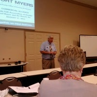 Photo taken at REALTOR® Association of Greater Fort Myers and the Beach Education Center by JJ J. on 8/17/2012