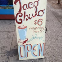 Photo taken at Taco Chulo by Lizy C. on 4/17/2012