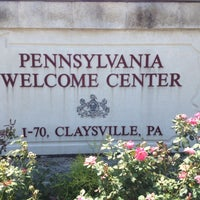 Photo taken at Pennsylvania Welcome Center by David S. on 7/26/2012