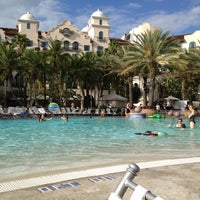 Photo taken at Hard Rock Hotel Beach Pool by Nicholas G. on 4/15/2012