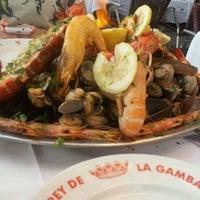 Das Foto wurde bei El Rey de la Gamba von Jieun G. am 9/6/2012 aufgenommen