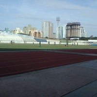 Photo taken at Estádio Willie Davids by Angelo M. on 7/28/2012