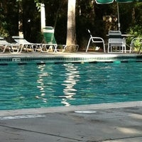 Photo taken at Imperial Oaks Pool by Jason F. on 9/1/2012