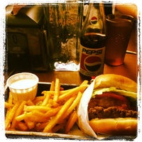 Photo taken at burger. by Michio F. on 7/8/2012